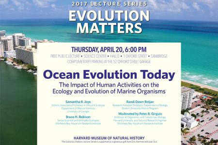 evolution matters flyer